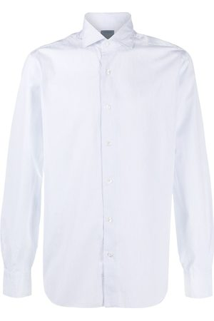 BARBA Striped buttoned shirt