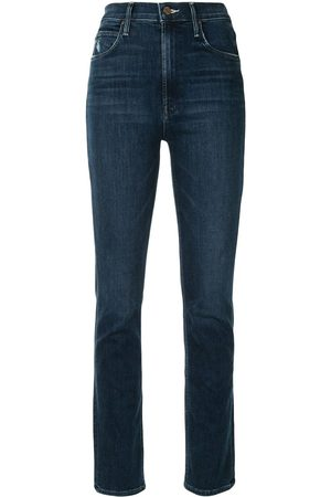 Mother The Dazzler Hover high-waisted slim-fit jeans