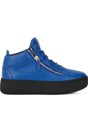 Giuseppe Zanotti Kriss grained leather trainers