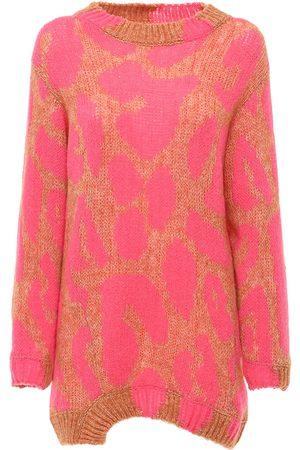 Stella McCartney Sweater Aus Wollmischung Mit Intarsienstrick