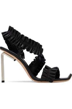 OFF-WHITE 100mm Leather Sandals