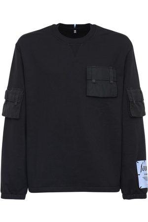 McQ Baumwollsweatshirt Mit Nylontasche