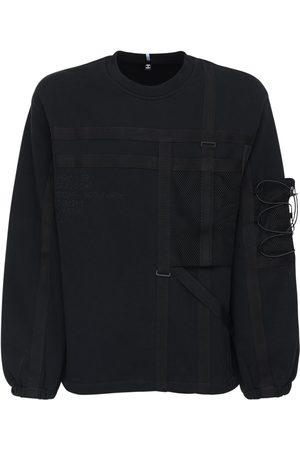 McQ Sweatshirt Aus Baumwolle Mit Taschen