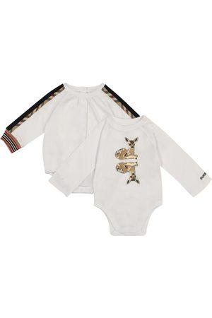 Burberry Baby Set aus zwei Bodys