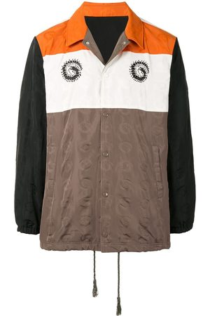 UNDERCOVER Colour-block logo-print jacket