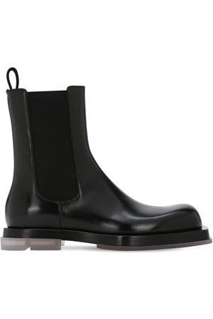 Bottega Veneta Chelsea Leather Boots