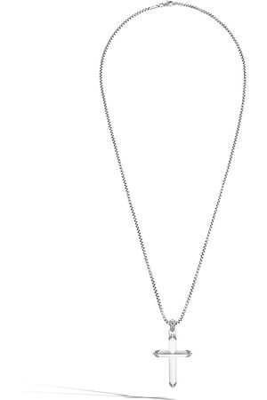 John Hardy Classic Chain Cross pendant necklace