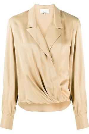 3.1 Phillip Lim Wrap draped blouse