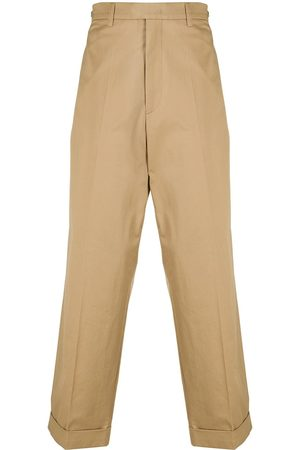 MACKINTOSH MIZZLE cropped chinos