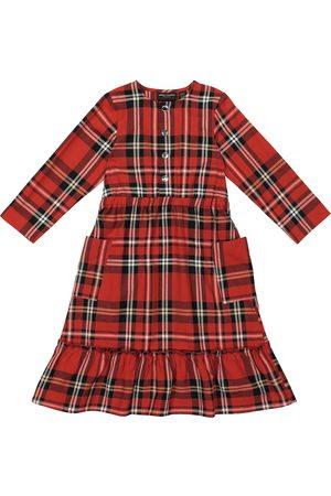 Mini Rodini Kariertes Kleid aus Flanell
