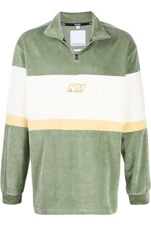 NAPA Herren Sweatshirts - Colour block henley sweatshirt