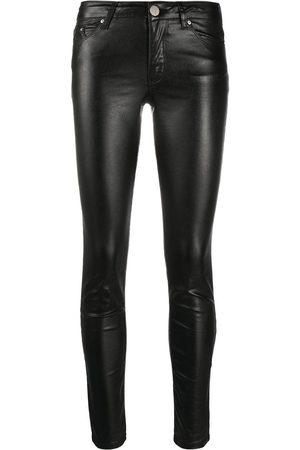 Karl Lagerfeld Skinny metallic denim pants