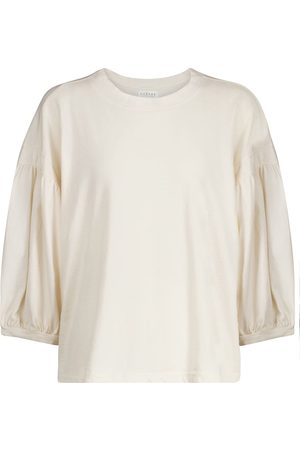Velvet Sweatshirt Prudy aus Baumwolle