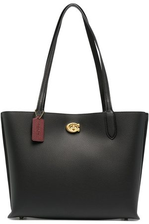 Coach Oversized leather tote bag