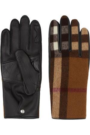 Burberry Herren Handschuhe - Check-pattern gloves