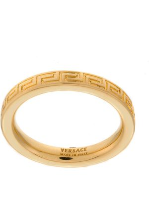 VERSACE Greek Key band ring