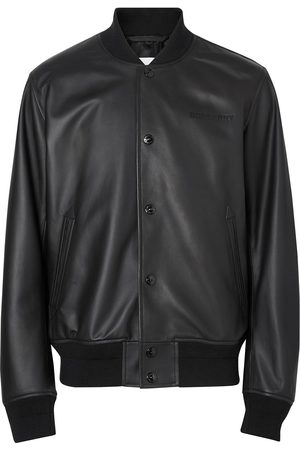 Burberry Embossed logo bomber jacket