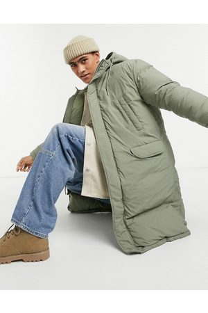 ASOS Puffer parka jacket in
