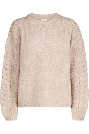 Velvet Pullover Maree mit Alpaka