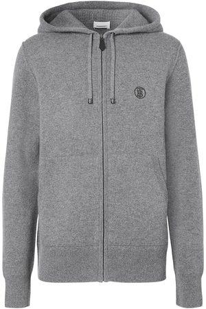Burberry Herren Sweatshirts - Monogram motif cashmere hoodie