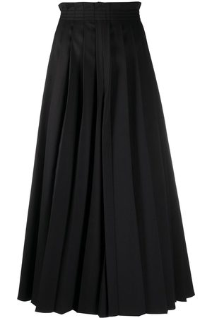 MM6 MAISON MARGIELA Pleated wide-leg trousers
