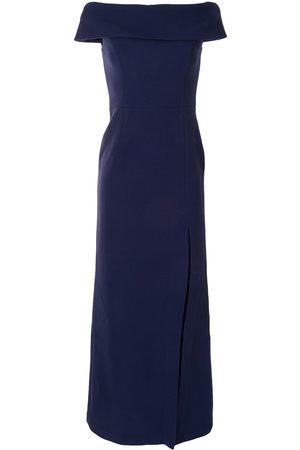Rebecca Vallance Off-shoulder long gown