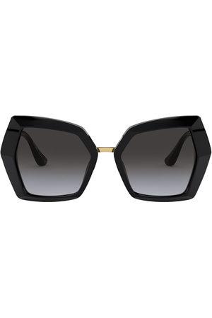 Dolce & Gabbana Oversized gradient sunglasses