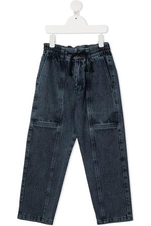 Le pandorine Stonewashed jogging-style jeans