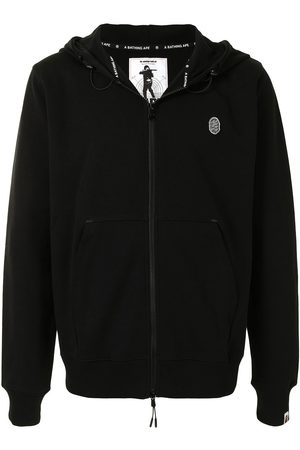 A BATHING APE® Ape Head zip-up hoodie