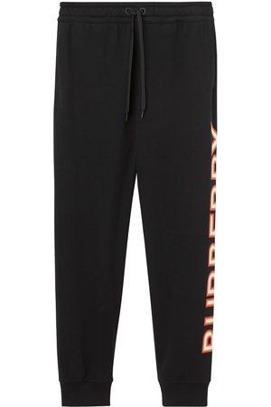 Burberry Logo print track pants