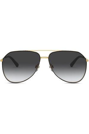 Dolce & Gabbana Slim aviator-frame sunglasses