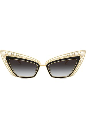 Dolce & Gabbana Christmas cat-eye frame sunglasses