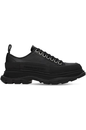 """Alexander McQueen 45mm Hohe Sneakers Aus Leder """"tread Slick"""""""