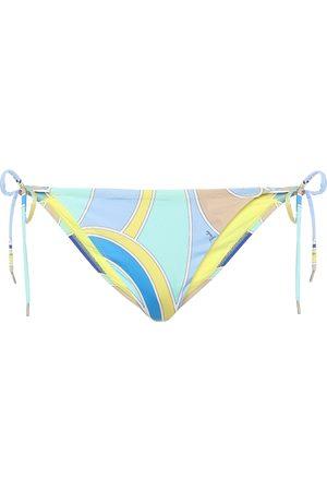 Emilio Pucci Bedrucktes Bikini-Höschen