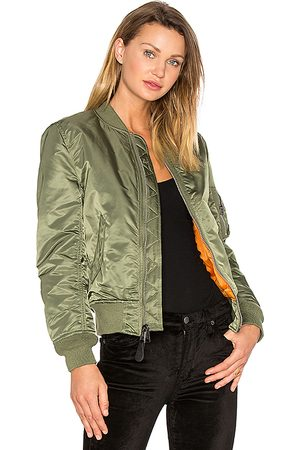 Alpha Industries MA-1 W Bomber in - Green. Size L (also in M, S, XS).