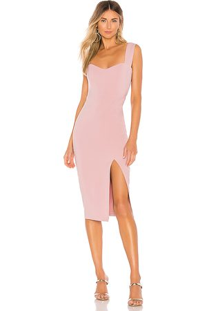 Nookie Divine Midi Dress in - Pink. Size M (also in XS).