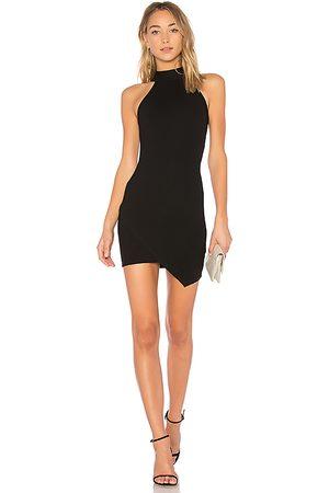 superdown Tegan Wrap Mini Dress in - . Size M (also in XXS, XS, S).