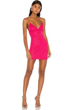 superdown Sydney Sparkle Mini Dress in - . Size M (also in XXS, XS, S, XL).