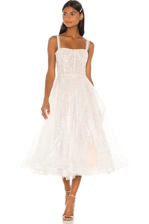 Bronx and Banco Mademoiselle Bridal Midi Dress in - . Size L (also in S).
