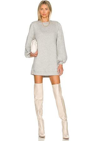 Lovers + Friends Jessa Sweatshirt Dress in - Grey. Size S (also in XL).