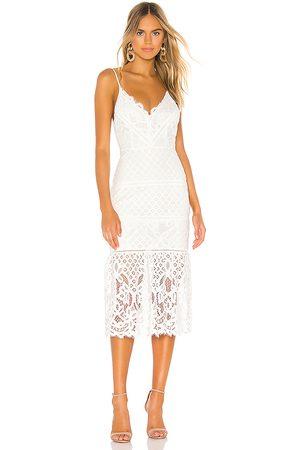 Lovers + Friends Damen Midikleider - Tilly Midi Dress in - . Size L (also in XXS, XS, S, M, XL).