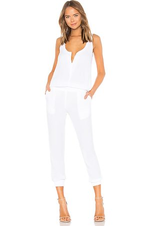 MONROW Crepe Jumpsuit in - . Size L (also in M, S, XS).