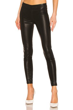BLANK NYC Vegan Leather Legging in - Black. Size 24 (also in 25, 26, 27, 28, 29, 30, 31).