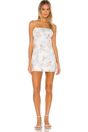 Song of Style Willow Mini Dress in - Ivory. Size L (also in XXS, XS, S, M, XL).