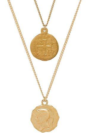 Martha Calvo Warrior Coin Set in - Metallic . Size all.