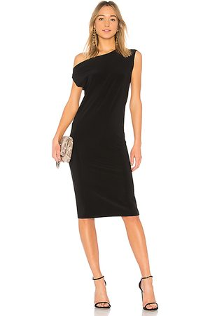 Norma Kamali Drop Shoulder Sleeveless Dress in - . Size L (also in S, XS).