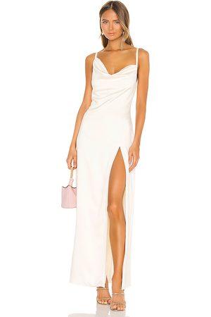 Camila Coelho Reyna Maxi Dress in - Cream. Size M (also in XXS, XS, S).
