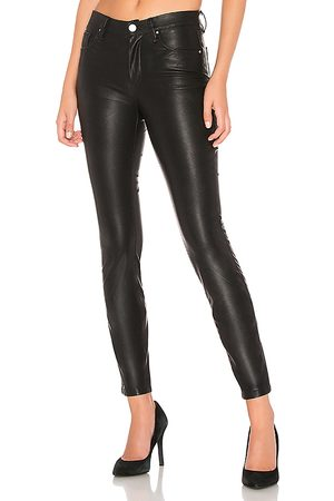 BLANK NYC Vegan Leather Pant in - Black. Size 24 (also in 25, 26, 27, 28, 29, 30, 31, 32).