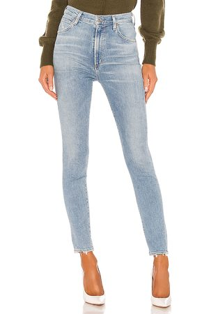 Citizens of Humanity Chrissy Sculpt High Rise Skinny in - Denim-Light. Size 23 (also in 24, 25, 26, 27, 28, 29, 30, 31).