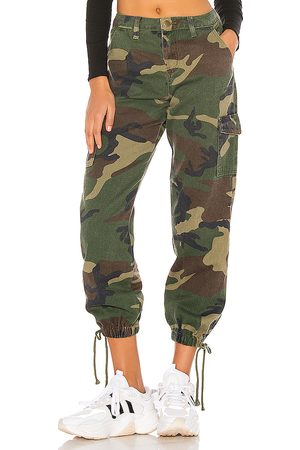 superdown Kayla Jogger Pant in - Green. Size 24 (also in 28).